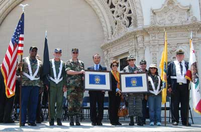 58th Massing of the Colors